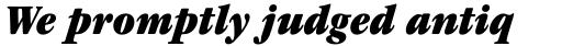 ITC Garamond Std Ultra Narrow Italic sample