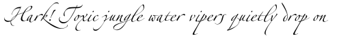 Linotype Zapfino Two sample