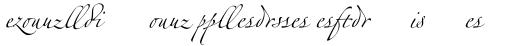 Linotype Zapfino Ligature sample