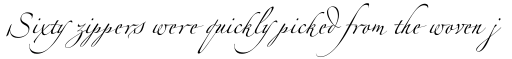 Linotype Zapfino Four sample