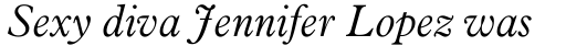 Aldine 721 Light Italic sample