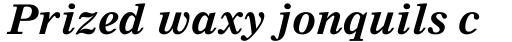 Nimrod MT Bold Italic sample