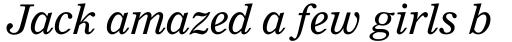 Nimrod MT Italic sample