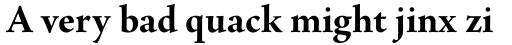 Agmena Paneuropean Bold sample