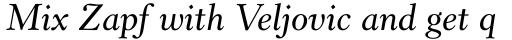Revival 555 SemiBold Italic sample