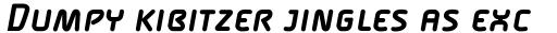 FF Alega Pro Bold Italic SC sample