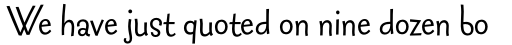 FF Fontesque Sans Std Regular sample