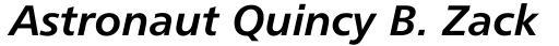 Humanist 777 Bold Italic sample