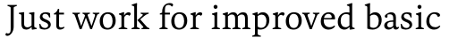 FF Kievit Serif Regular sample