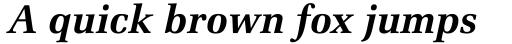 Zapf Elliptical 711 Bold Italic sample