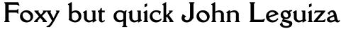 Della Robbia Bold sample
