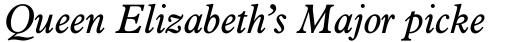 Aldine 721 Italic sample