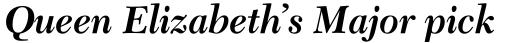 Transitional 511 Bold Italic sample