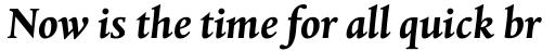 Albertina MT Bold Italic sample