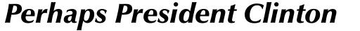 Zapf Humanist 601 Ultra Italic sample