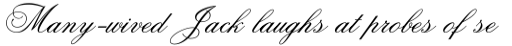 Old Fashion Script Flourishes sample