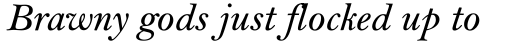 Bell MT SemiBold Italic sample