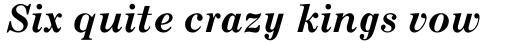 Century MT Bold Italic sample