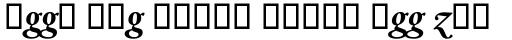 Dante MT Bold Italic Alt sample