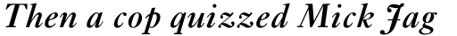 Ehrhardt Semibold Italic sample