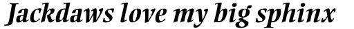Ellington MT Bold Italic sample