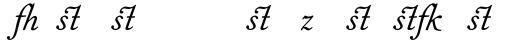 Fournier MT Italic Alt sample