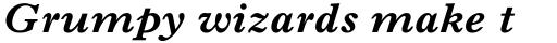 Imprint MT Bold Italic sample
