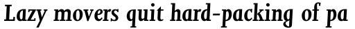 Joanna MT Bold Italic sample