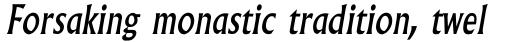 Albertus MT Italic sample