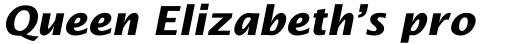 Lucida Sans Bold Italic sample