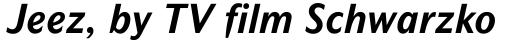 Mahsuri Sans MT Bold Italic OsF sample