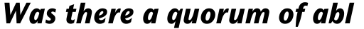 Mahsuri Sans MT ExtraBold Italic OsF sample