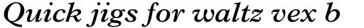 Plantin SemiBold Italic sample