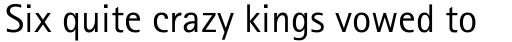 Rotis Sans Serif sample