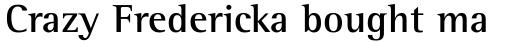 Rotis Semi Serif Bold sample