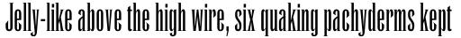 Runic MT Condensed sample