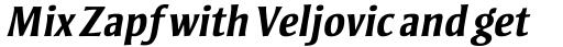 Strayhorn MT Bold Italic sample