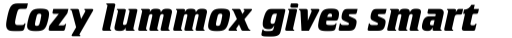 Crillee Bold Italic sample