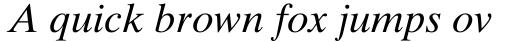 Times Ten Italic sample