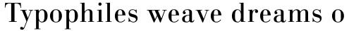 Linotype Gianotten Regular sample