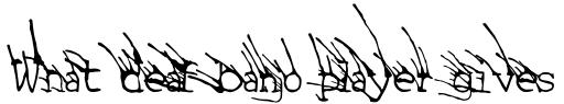 Linotype Grassy Bold sample