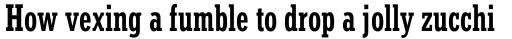 Stymie Bold Condensed sample