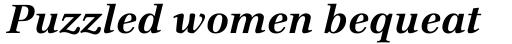 Emona Bold Italic sample