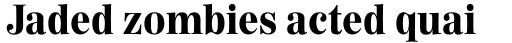 Worldwide Headline Black sample