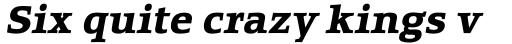 Equestrienne RR Bold Italic sample