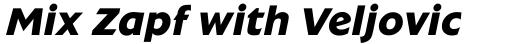 Extension RR Bold Italic sample