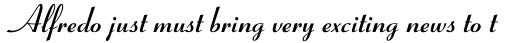 Coronet RR Bold sample