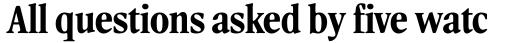 Leighton RR Bold Condensed sample