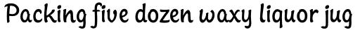 Sinclair Script RR Light Regular sample