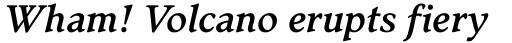 Stanhope RR Medium Italic sample